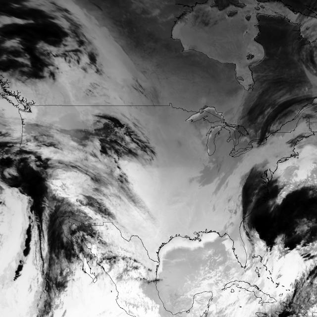 GOES-13 Channel 4 (Infrared)